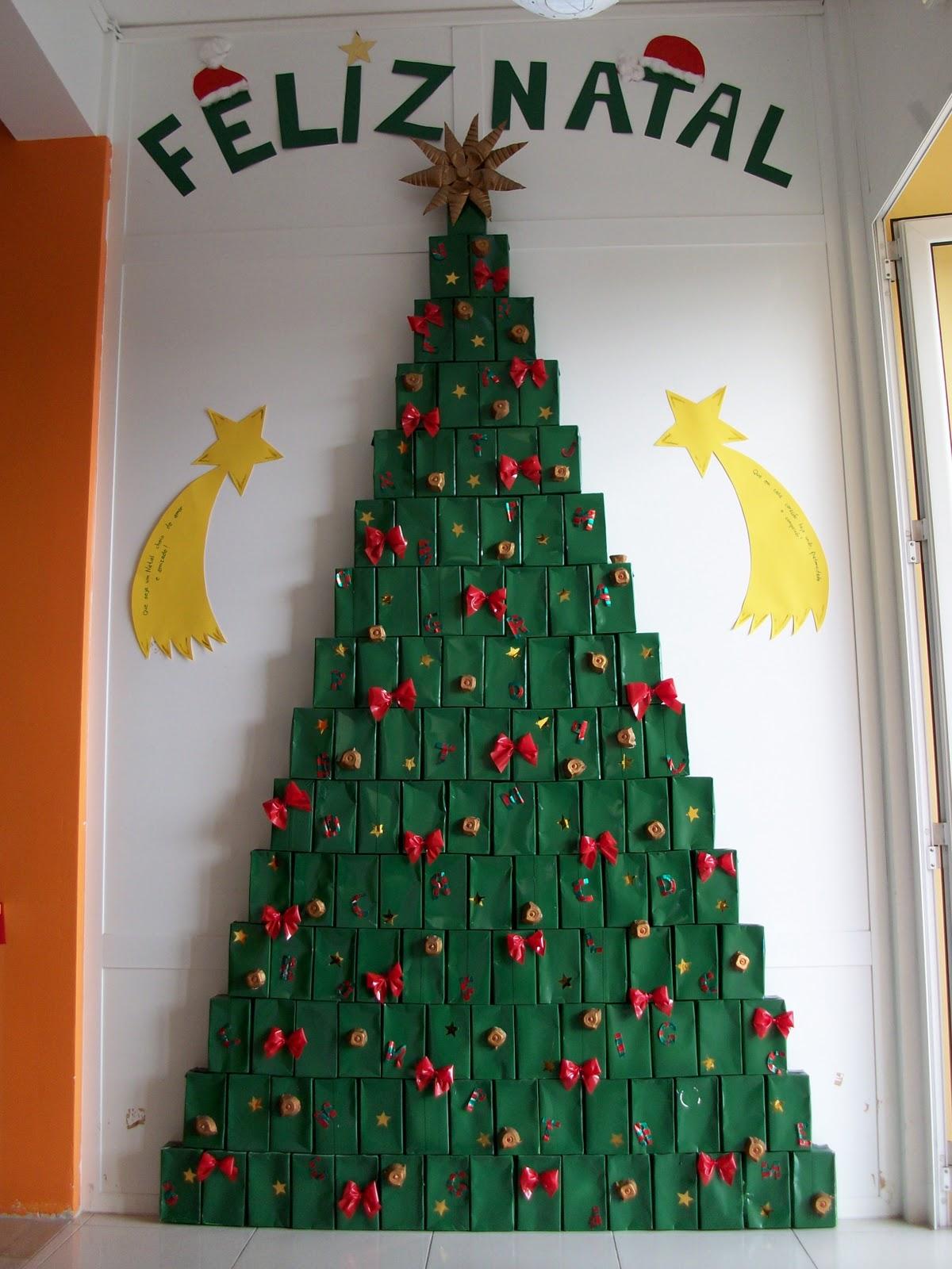 decoracao arvore de natal reciclavel : decoracao arvore de natal reciclavel:Arvore De Natal