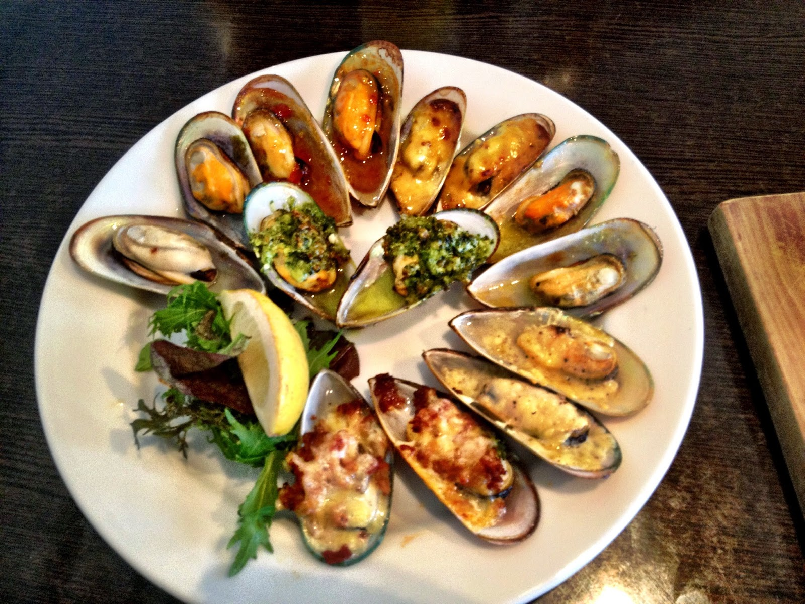Havelock green shell mussels - New Zealand