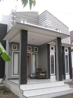 Contoh gambar Teras Rumah Minimalis