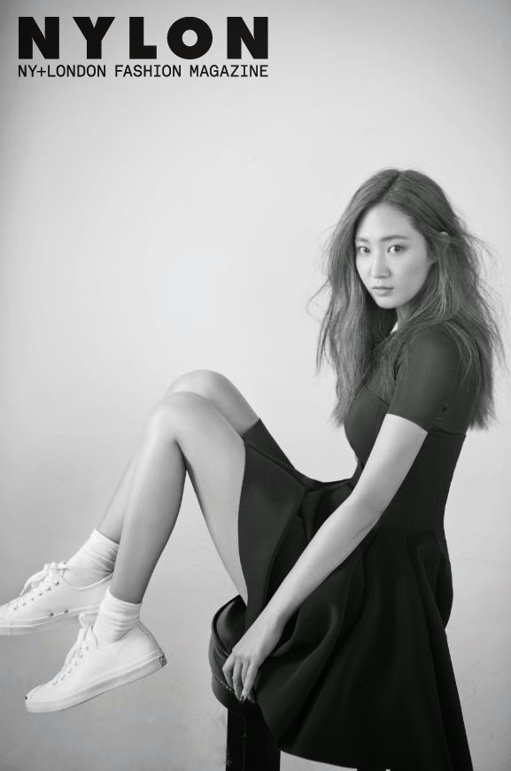 Yuri SNSD Girls' Generation - Nylon Magazine December Issue 2014