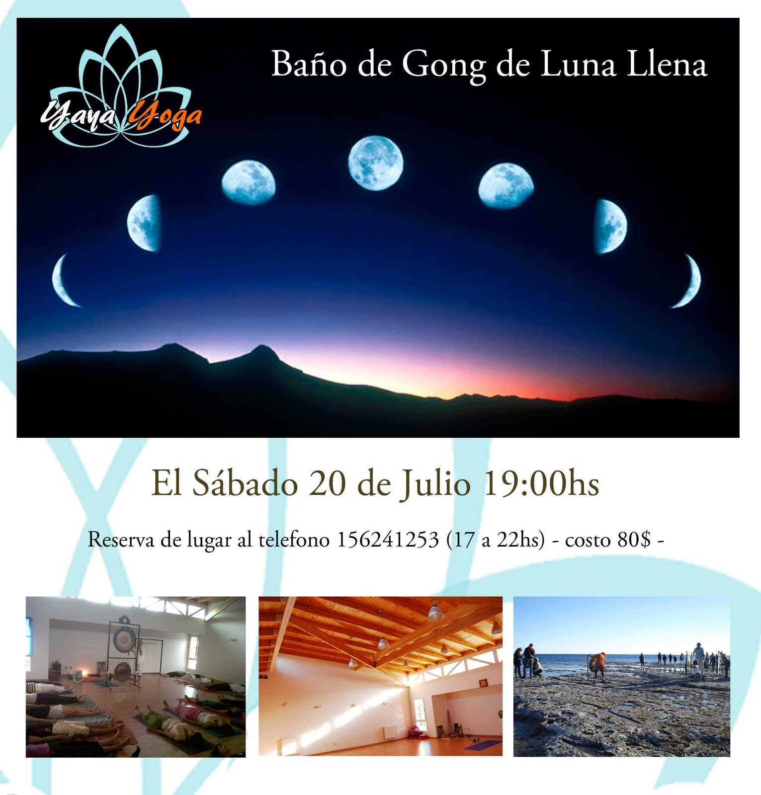 Imagenes De Baño De Luna:Centro Holístico Yaya Yoga: Baño de Gong de Luna Llena Julio!