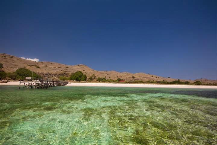 Pulau Padar di Taman Nasional Komodo.