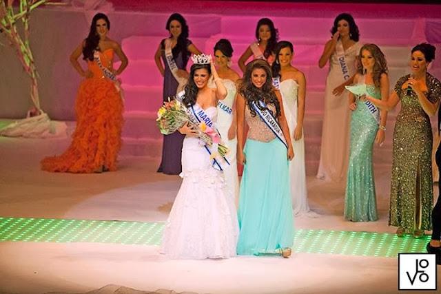 Miss Mundo World Nicaragua 2013 winner Maria Esther Cortes