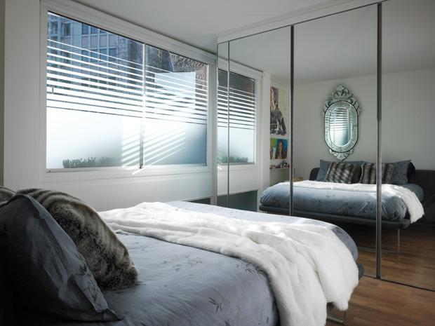 """decoracao kitnet casal:Ótima pedida para apartamentos """"P"""". Além de dar charme ao"""