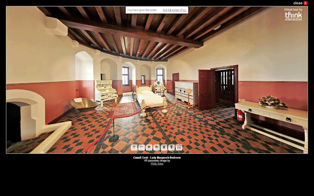 Castell Coch - Lady Margaret's Bedroom