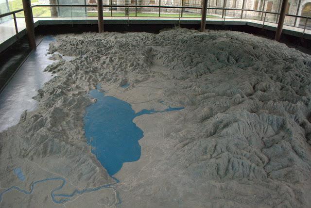 Рельефная карта Черногории