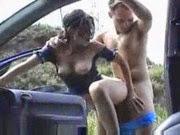 Foda no carro