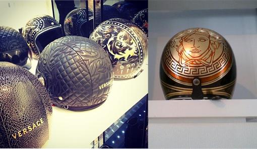 versace motorcycle helmet