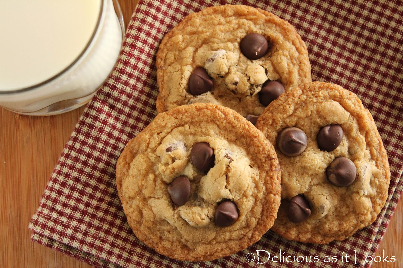 Delicious as it Looks: Food.com: Gluten-Free Chocolate Chip Cookies