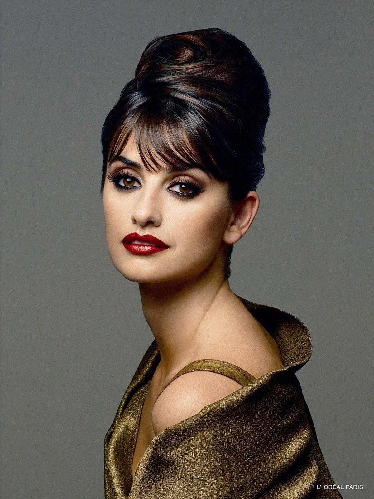 Fresh Look Celebrity Penelope Cruz Hairstyles 07
