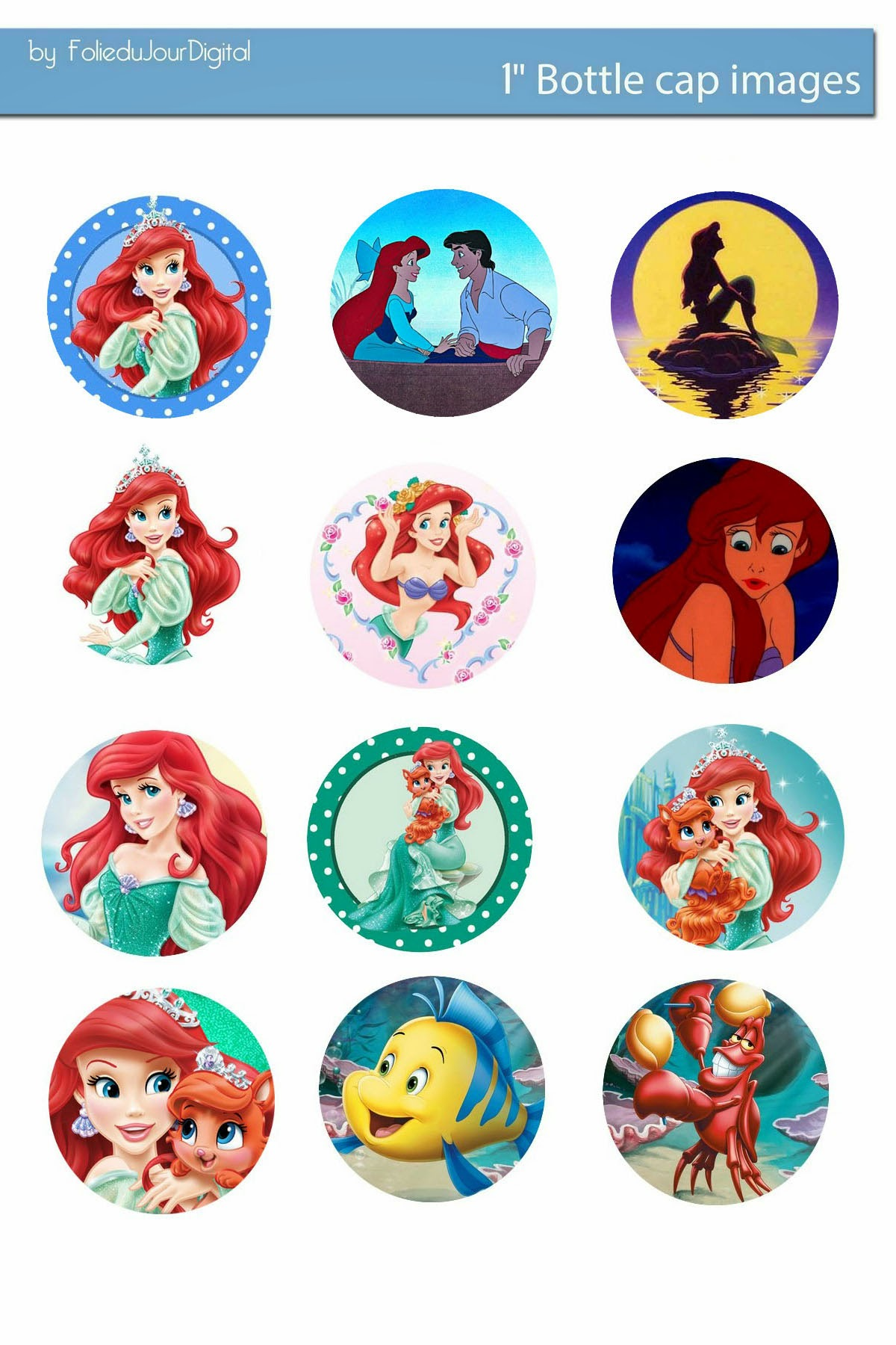 This is a picture of Universal Printable Bottlecap Images