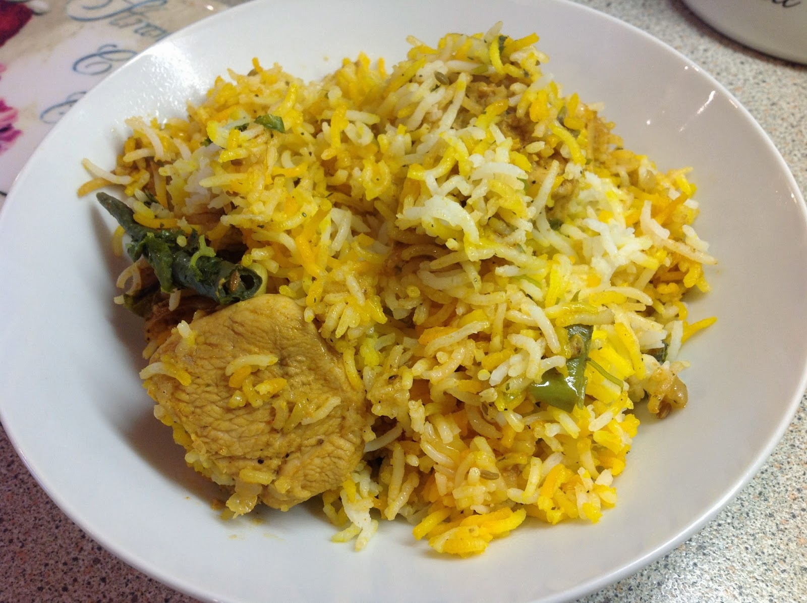 This Muslim Girl Bakes: Easy + Traditional Pakistani Chicken Biryani.