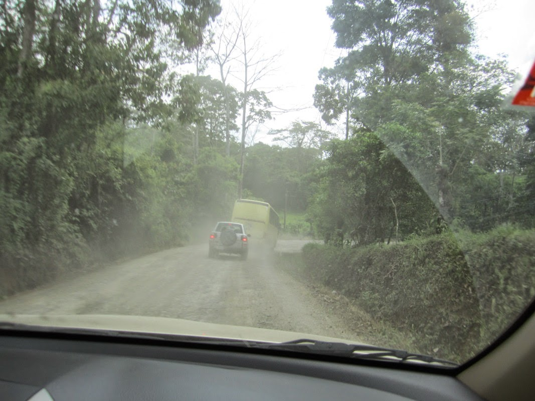 costa rica bad  road