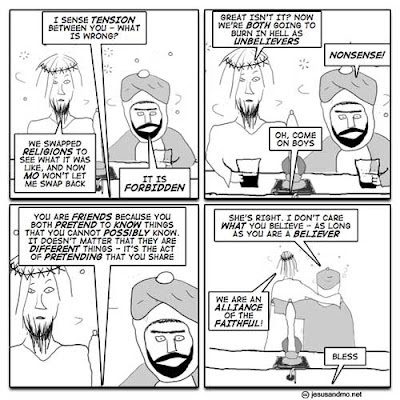Bless, Jesus and Mo