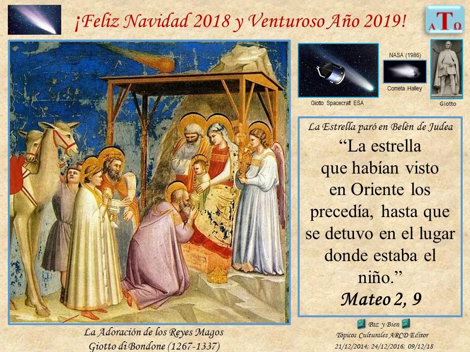 Feliz Navidad 2018 Venturoso Año 2019