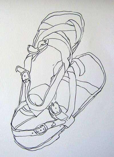 Define Contour Line Drawing : Contour drawing d