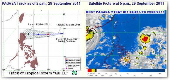 tropical storm bagyong quiel