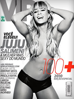 Revista Vip – Juliana Salimeni e as 100+