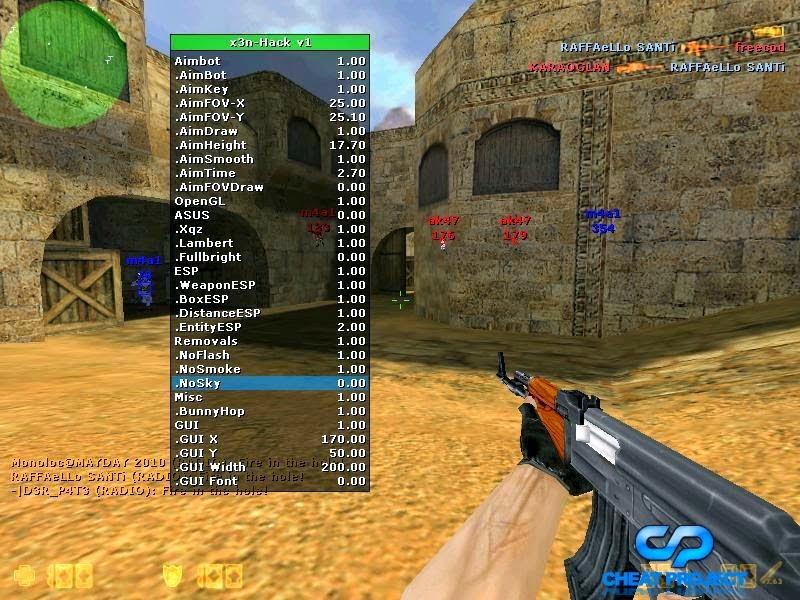 Counter Strike 1.6 VIP Hack Cs+1.6