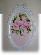 Vintage Mirror Painting
