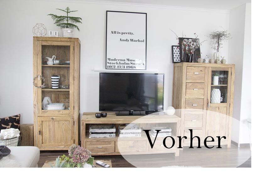 kreidefarbe f r s wohnzimmer creativlive. Black Bedroom Furniture Sets. Home Design Ideas
