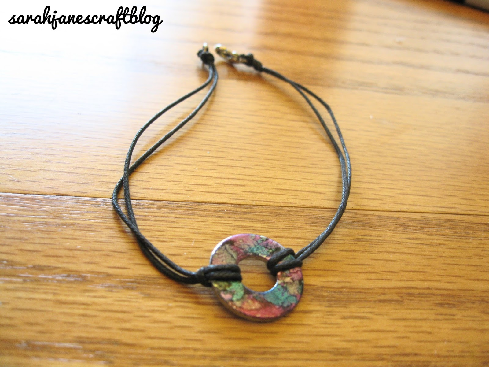 bracelet washer free to how necklace tutorial washers img jewelry created article a handmade make using