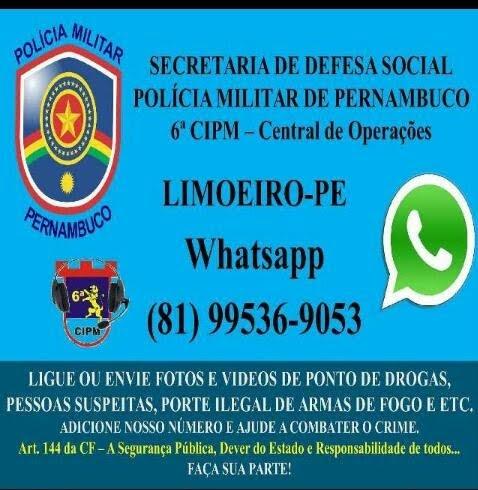 Polícia Whatsapp Limoeiro
