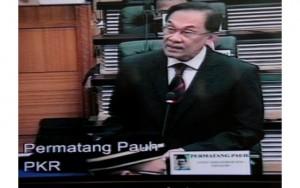 Ketua Pembangkang Datuk Seri Anwar Ibrahim
