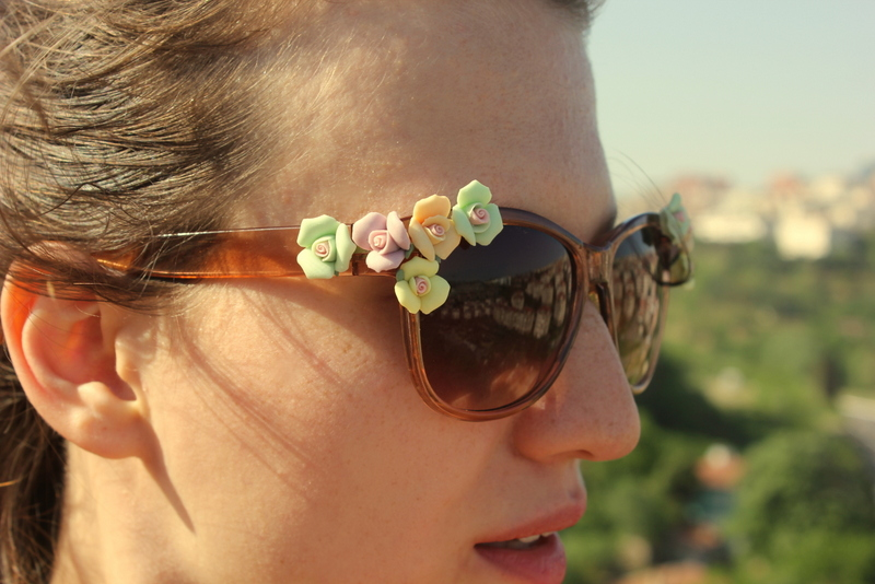 Dolce&Gabbana Inspired Floral Sunglasses by Muguet DIY