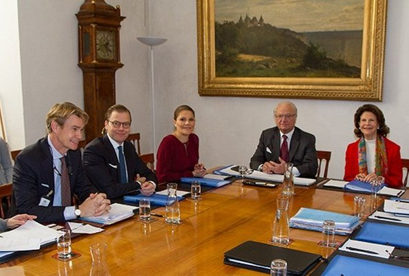 Information Meeting For The State Visit From Tunisia At The Swedish Royal Palace