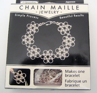 Chain maille bracelet kit