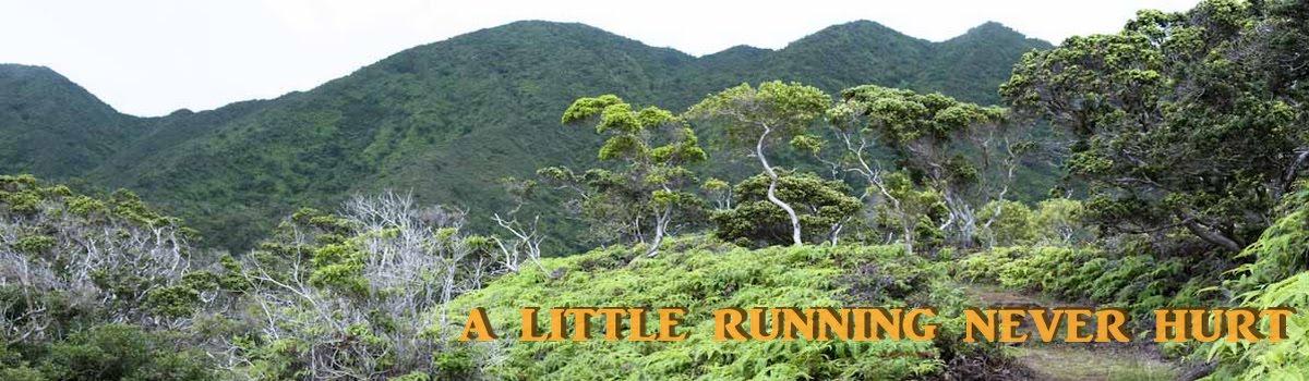 A Little Running Never Hurt