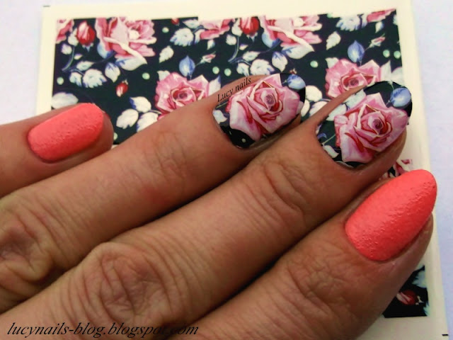 Water decals flowers Born Pretty Store