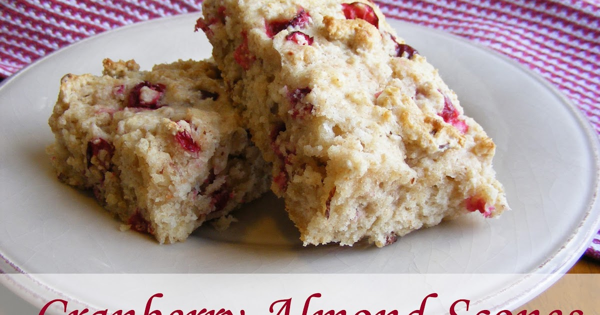 Everyday Art: Cranberry Almond Scones