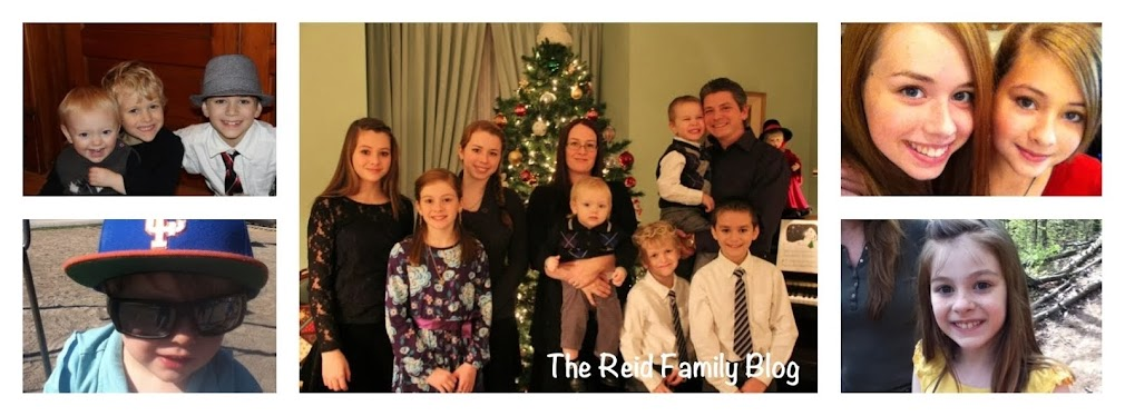 The Reid Family Blog