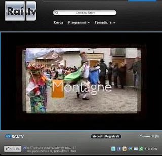 Rai Tv Montagne trasmissione del 13 aprile 2012