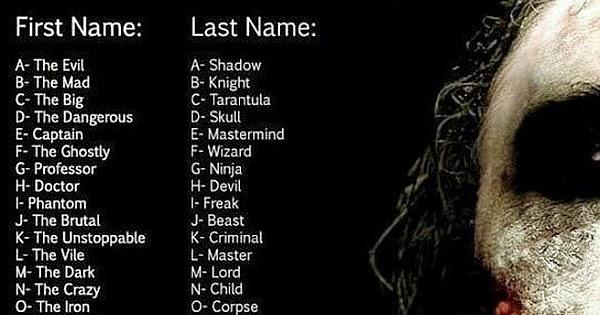 other names for joker