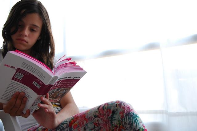 Saga de libros: Odio el rosa.