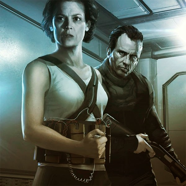 Boceto Alien 5 Neil Blomkamp