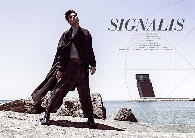 kyle ward, just models, trend me too, fashion editorial, signalis