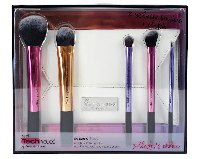 Real Techniques Holiday 2015 Deluxe Collector's Edition Gift Set