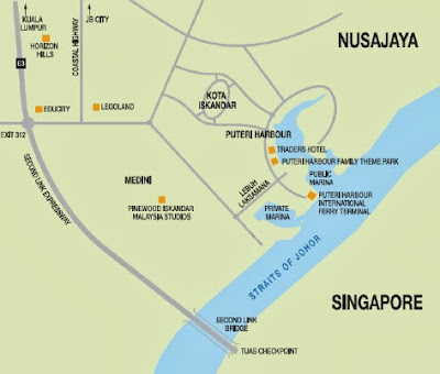 Getting to Puteri Harbour