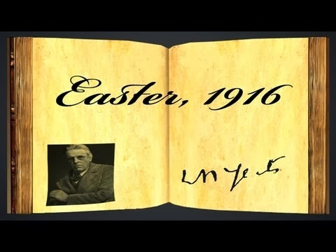 an analysis of yeats easter 1916