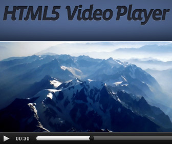 Sublime HTML5 video player