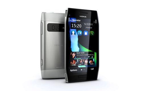 Nokia X7 Symbian Anna işletim sistemli akıllı telefon