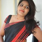 Sitara Hot Photos in Saree at Gundello Guchi Guchi Champake Movie Press Meet 47