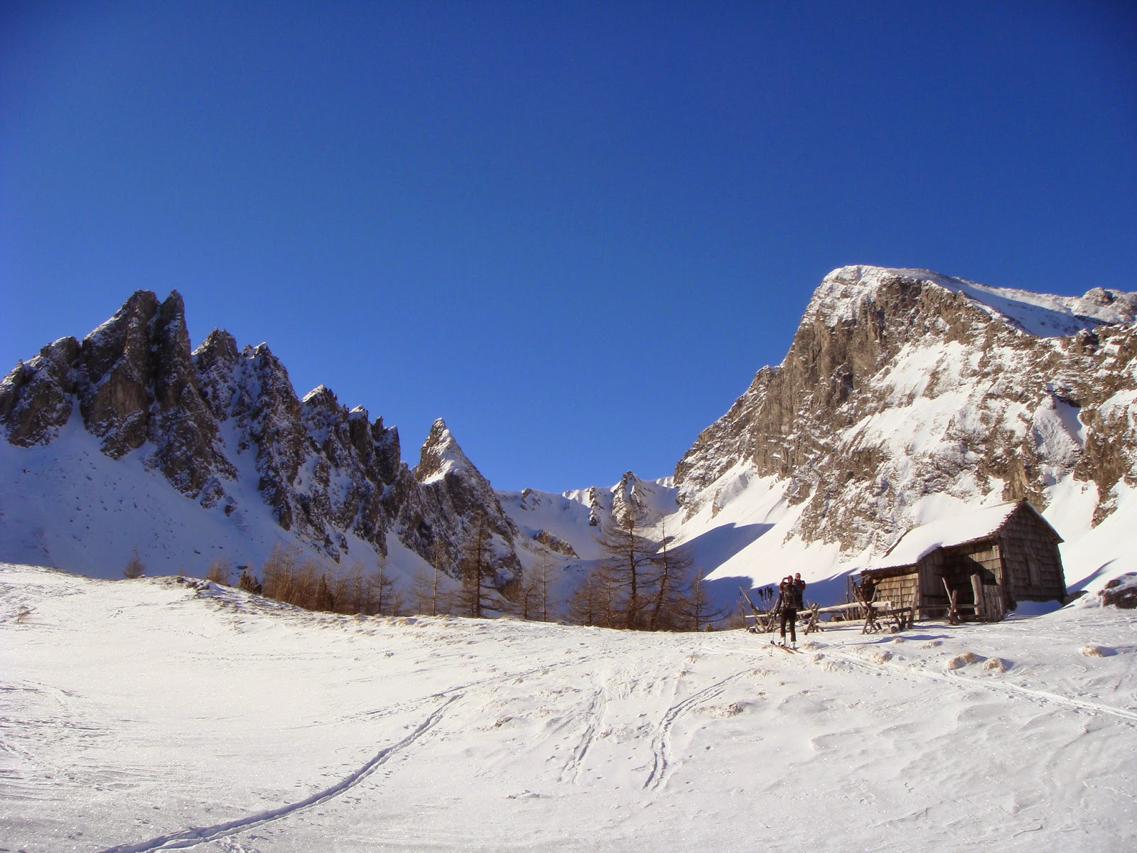 Ascensión al Weisseck (Austria).
