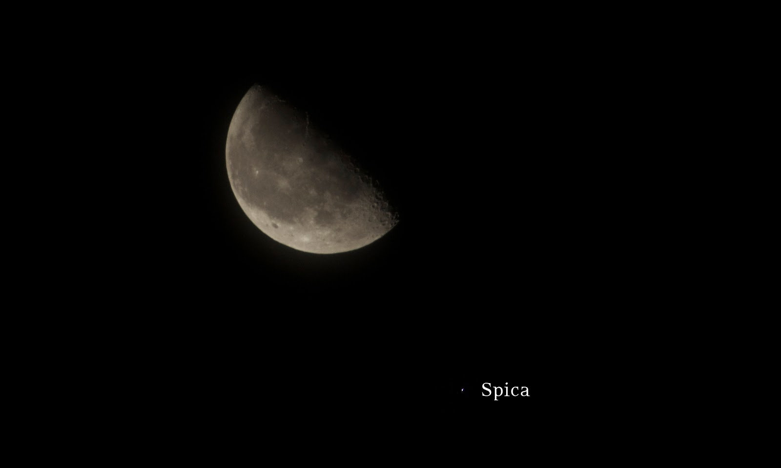 moon with spica