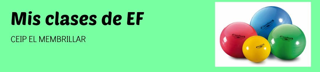 Mis clases de EF
