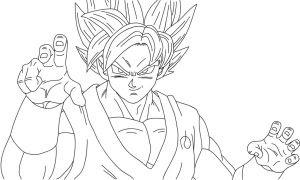 Desenhos para colorir do Dragon Ball Z - imagens para colorir do dragon ball z